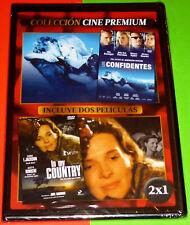 IN MY COUNTRY + LOS CONFIDENTES The Informers  -DVD R2- CAJA FINA/SLIM Precintad