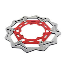 Red 270MM Front Floating Brake Disc Rotor For CRF250R CRF450R CRF250X CRF450X