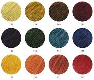 Lana Grossa Landlust Merino 120 Merinowolle GOTS-Zertifiziert Farbauswahl