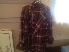 Acne Studios Wool blend checked oversized Coat Size 36