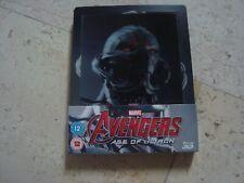 THE AVENGERS AGE OF ULTRON DEBOSSED&LENTICULAR Blu-Ray SteelBook MARVEL Iron Man