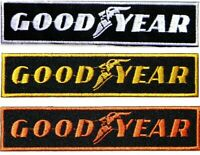 Patch Iron on Sew GOODYEAR Tire Car Truck Bicycle Motorcycle Racing Snapback Hat