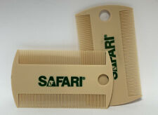 SAFARI by Coastal - Double-Sided Flea Comb For Cats - Dogs - Pets - Lot of 10