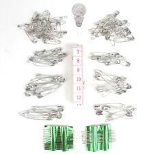 286 Safety Pins & Needles Set Nähen Threading Stickerei hin Maßband