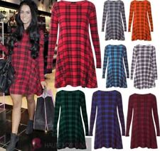 Christmas Check Dresses for Women