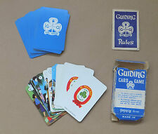 Vintage PEPYS SERIES Guilding Card Game (Complete) Girl Guides