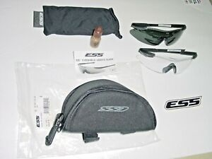 ESS Military Issue ICE 2X Custom Fit Frameless Eye Protection 740-0004 BRAND NEW