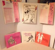 """3 Vintage """"The Stretch and Sew Sewing Book"""" & 3 Patterns by Ann Person 1974-1979"""