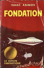 Le Rayon Fantastique 44 - Isaac Asimov - Fondation - EO 1957