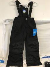 Slalom Snow Bib Pants - Youth - Black