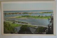 The Entrance Lakes Entrance Victoria Antiquarian Vintage Collectable Postcard.