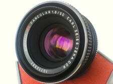 Carl Zeiss PANCOLAR Red MC 1.8/50mm M42 German Lens Screw Mount