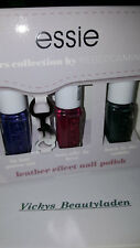 Essie Leathers Collection ba Rebecca Minkoff 3 x 5ml Nagellack set