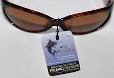 Officially Licensed Sea Striker brand Weekender Tortoise Brown Ladies Sunglasses