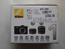 Nikon  1 1 V1 10.1 MP Digital Camera - Black (Kit w/ VR 10-30mm and VR...
