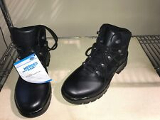 HAIX Airpower P6 mid US Mens 12  W Boots Police Tactical BLACK NEW GORTEX