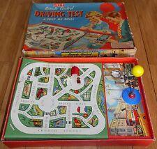 Merit Remote Control Driving Test Skill Game Vintage Original 1950's Rare