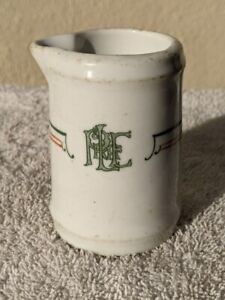 "(M) PITTSBURGH & LAKE ERIE ""YOUNGSTOWN"" PATTERN RAILROAD CREAMER"
