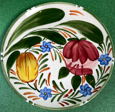 Royal Victoria Wade England  Capri Floral Tulips Pottery Hand painted Plate