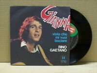 RINO GAETANO - GIANNA - 45 RPM - IT