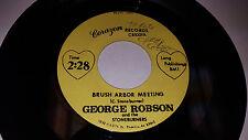 GEORGE ROBSON & THE STONEBURNERS Brush Arbor Meeting PHOENIX AZ Corazon Records