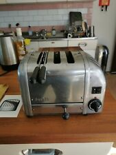 Dualit Combi 3 Slice Toaster & Sandwich Cage -Stainless Steel with spare element