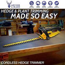 Dewalt Hedge Trimmer 18V 550MM - DCM563PB-XE - Tool Only