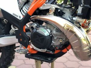 Clutch Cover Protection 2 STROKE KTM 250-300 from YEAR 2016 Model 2017 - 2021