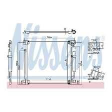 Fits Fiat Fullback 502 503 2.4 Genuine OE Quality Nissens A/C Air Con Condenser