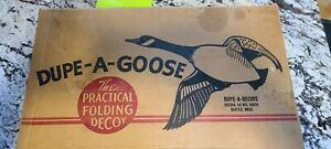 Dupe A Goose Decoys 1 Dz Folding Floating Decoys With Cardboard Box