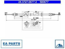 CABLE, PARKING BRAKE FOR FORD ATE 24.3727-0677.2