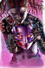 DARK NIGHTS METAL 6 COMICXPOSURE GREG HORN BATMAN HARLEY WHO LAUGHS B VARIANT