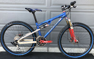 Titus Racer-X Full Suspension Mountain Bike RARE DT Hugi Wheels Carbon Bar MTB