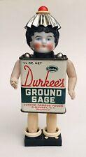 Ooak Handmade Assemblage Junk Art Doll Mixed Media Antique China Head - 'Sage'