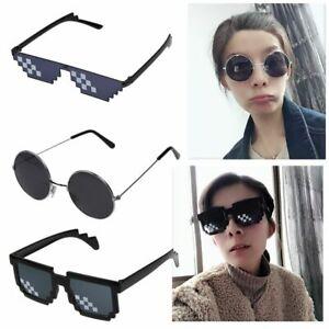 Thug Life Sunglasses Deal With It Pixel Unisex Glasses Fashion Goggles Eyewear