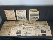 More details for job lot 11 antique newspapers ww2 1939 world war daily express mail herald