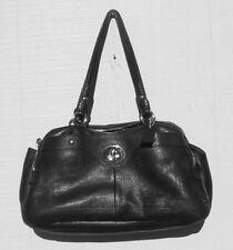 COACH LEATHER HAND BAG BLACK