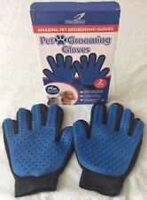 ONE PAIR OF PET DE-SHEDDING GROOMING GLOVES
