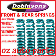 "NISSAN PATROL GQ GU  FRONT REAR DOBINSONS 4""INCH FLEXI RAISED COIL SPRINGS"
