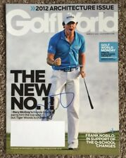 Rory Mcilroy Signed Autographed Golf World Golf Magazine