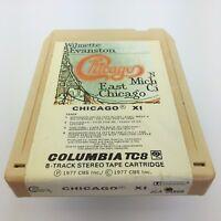 Chicago XI 8 Track Tape Columbia TC8 Music Audio cream color casing JCA34860