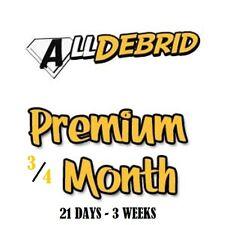 AllDebrid.com 21 days Premium - Fast worldwide processing 24H Trial Offer