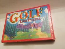 New Sealed Binary Arts Golf Course Cart Path Line Puzzle - (USA SHIPS FREE)