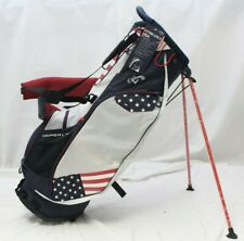 New Callaway Hyper Lite 3 HL3 2019 Stand Carry Golf Bag Navy Red White - USA