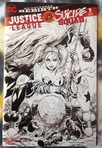 JUSTCE LEAGUE vs SUICIDE SQUAD #1 (variant Unknown Comics / Kirkham) - DC Comics
