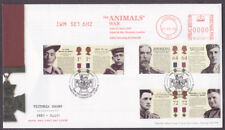 2006 VICTORIA CROSS SET OF 6 ON FDC WITH SPECIAL CANCEL AND METER MARK
