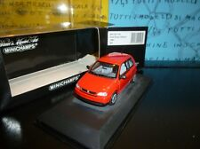 1/43 Minichamps Seat Arosa 1997 430057100 rosso red rouge rojo rot