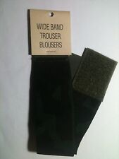 """US Military Elastic Boot Trouser Blousers 2"""" Wide Band Pair BDU Woodland Camo"""