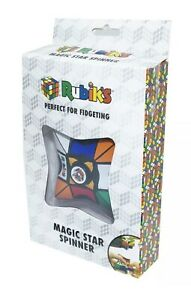 RUBIKS MAGIC STAR SPINNER CUBE PUZZLE FIDGET SPIN RUBIKS PUZZLE ***NEW SEALED***