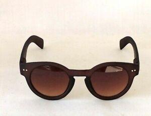 Vera Chocolate Mat Sunglasses 1930s 1940s Vintage style UV400